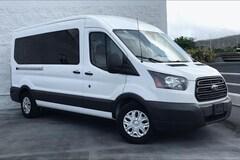 2018 Ford Transit-350 T-350 148 Med Roof XL Sliding RH D Full-size Passenger Van