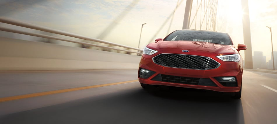 Ford Fusion Exterior Vehicle Features