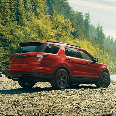 Ford Explorer Cargo Options