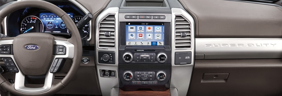 Ford Super Duty Interior Vehicle Features