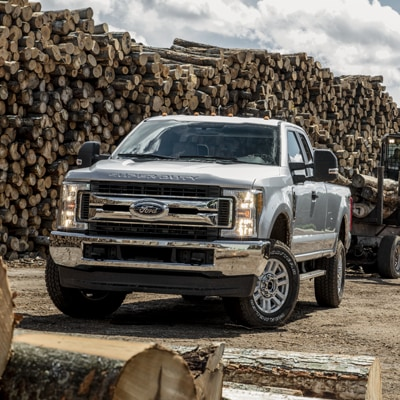 Ford Super Duty Cab and Bed Options
