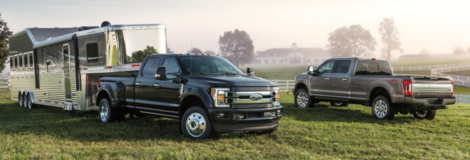 Ford Super Duty Exterior Vehicle Features