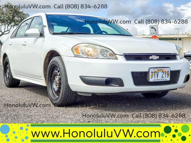 2013 Chevrolet Impala Police Sedan