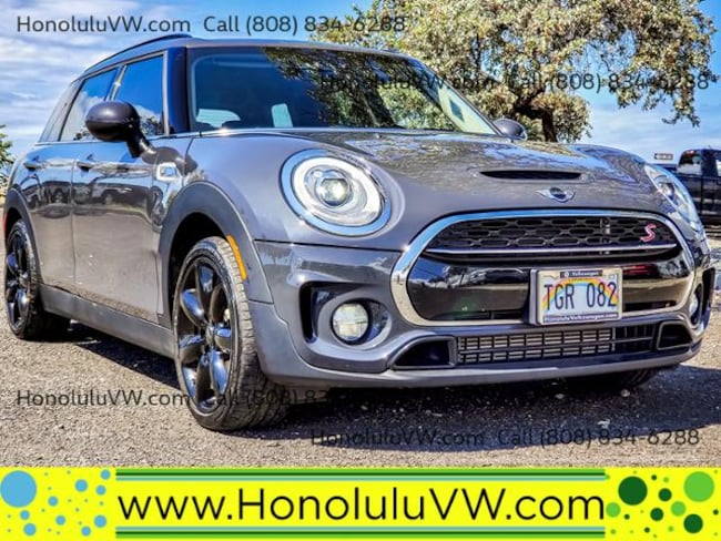 Used 2018 Mini Wagon Cooper S Thunder Gray For Sale At Lithia