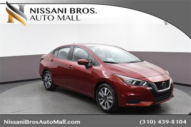 New 2020 Nissan Versa 1.6 SV Sedan for sale near Playa Vista