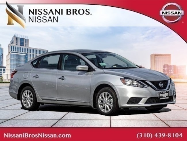 New 2019 Nissan Sentra SV Sedan for sale near Playa Vista