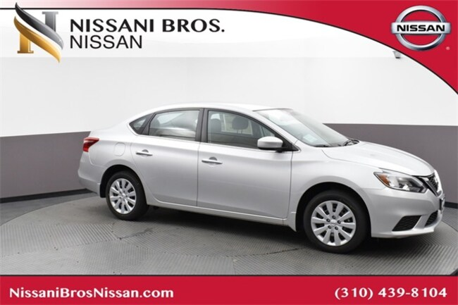 Certified 2019 Nissan Sentra Sedan for sale near Playa Vista