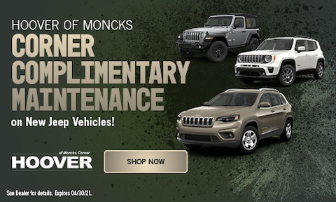 Complimentary Maintenance on New Jeeps - April