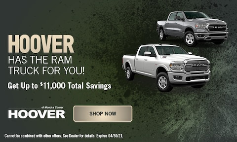 Hoover Has the RAM Truck for You! - April