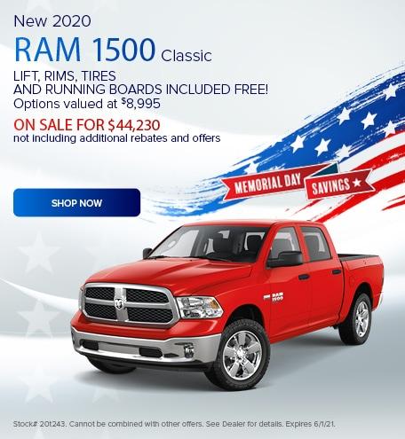New 2020 Ram 1500 Classic