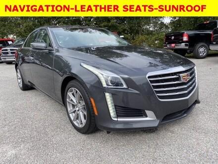 2017 Cadillac CTS Sedan Luxury RWD Sedan