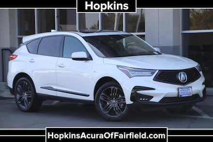 Featured Pre-Owned  2019 Acura RDX A-Spec Package SUV for Sale near Napa, CA