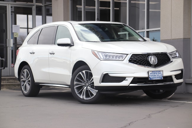 New 2019 Acura MDX SH-AWD with Technology Package SUV for sale in Fairfield, California at Hopkins Acura