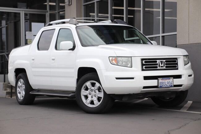 Used 2006 Honda Ridgeline RTL Truck for sale in Fairfield, CA at Hopkins Acura
