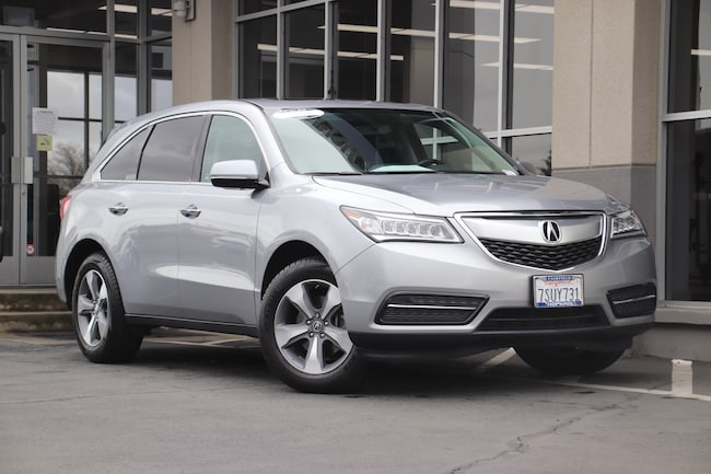 Certified Used 2016 Acura MDX 3.5L SUV for sale in Fairfield, CA at Hopkins Acura