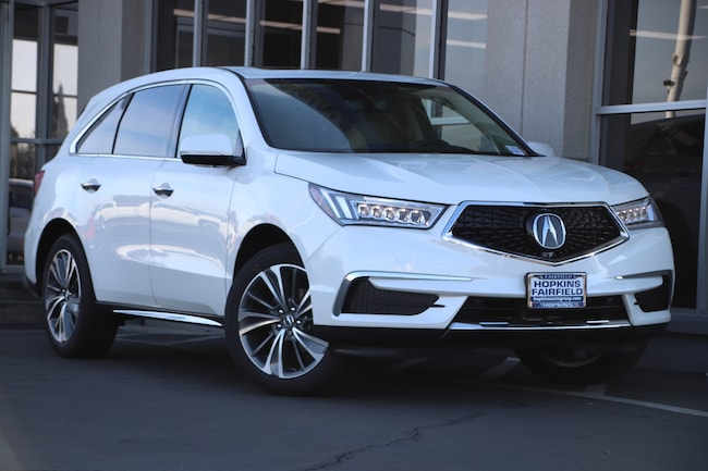 New 2019 Acura MDX with Technology Package SUV for sale in Fairfield, California at Hopkins Acura