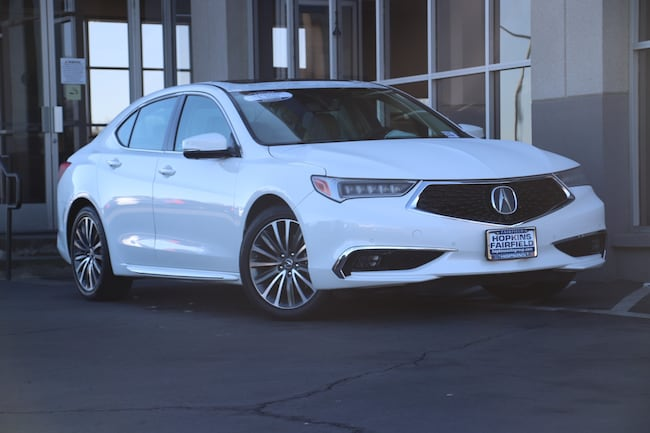 Certified Used 2018 Acura TLX 3.5L Advance Pkg Sedan for sale in Fairfield, CA at Hopkins Acura