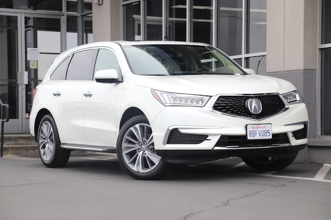 Certified Used 2018 Acura MDX 3.5L w/Technology Package SUV for sale in Fairfield, CA at Hopkins Acura