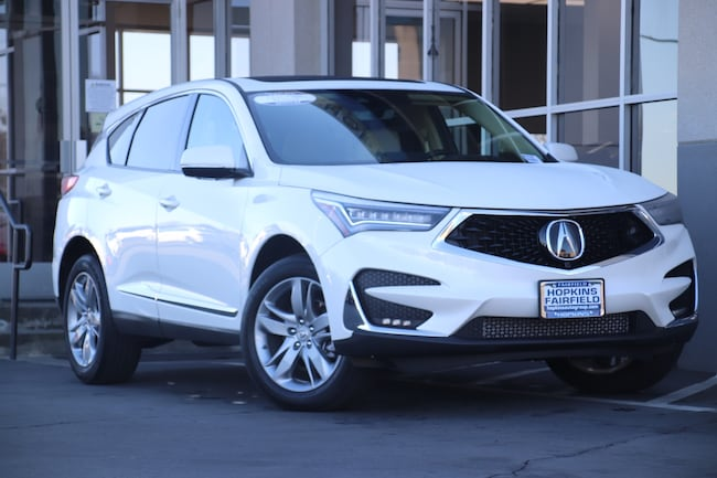 Certified Used 2019 Acura RDX Advance Package SUV for sale in Fairfield, CA at Hopkins Acura