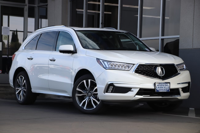 New 2019 Acura MDX SH-AWD with Advance Package SUV for sale in Fairfield, California at Hopkins Acura