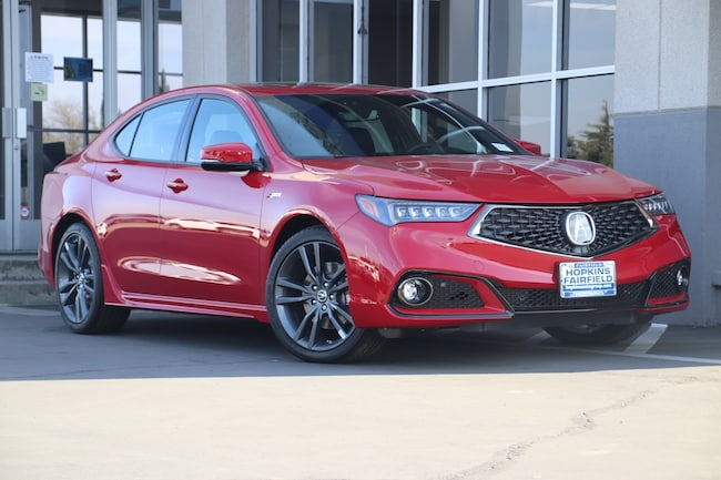 New 2019 Acura TLX 2.4 8-DCT P-AWS with A-SPEC Sedan for sale in Fairfield, California at Hopkins Acura