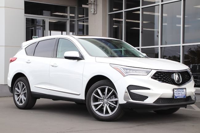 New 2021 Acura RDX with Technology Package SUV for sale in Fairfield, California at Hopkins Acura