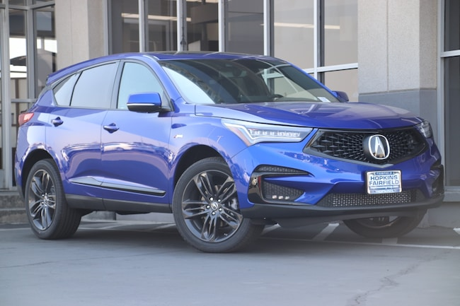 New 2019 Acura RDX with A-Spec Package SUV for sale in Fairfield, California at Hopkins Acura