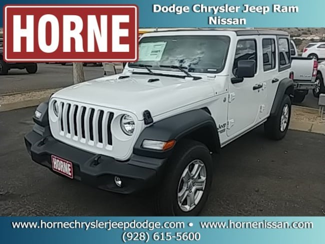 New  2018 Jeep Wrangler UNLIMITED SPORT S 4X4 Sport Utility for sale in globe az