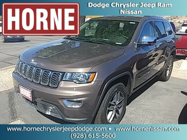 New  2018 Jeep Grand Cherokee LIMITED 4X4 Sport Utility for sale in globe az