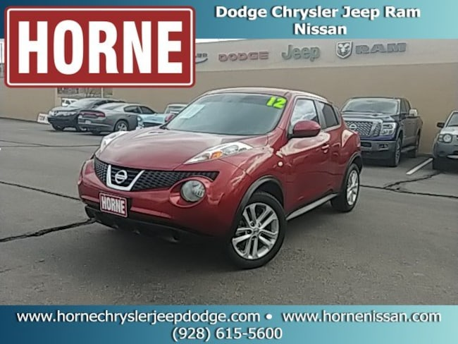 Used 2012 Nissan Juke S (CVT) SUV for sale in Globe AZ