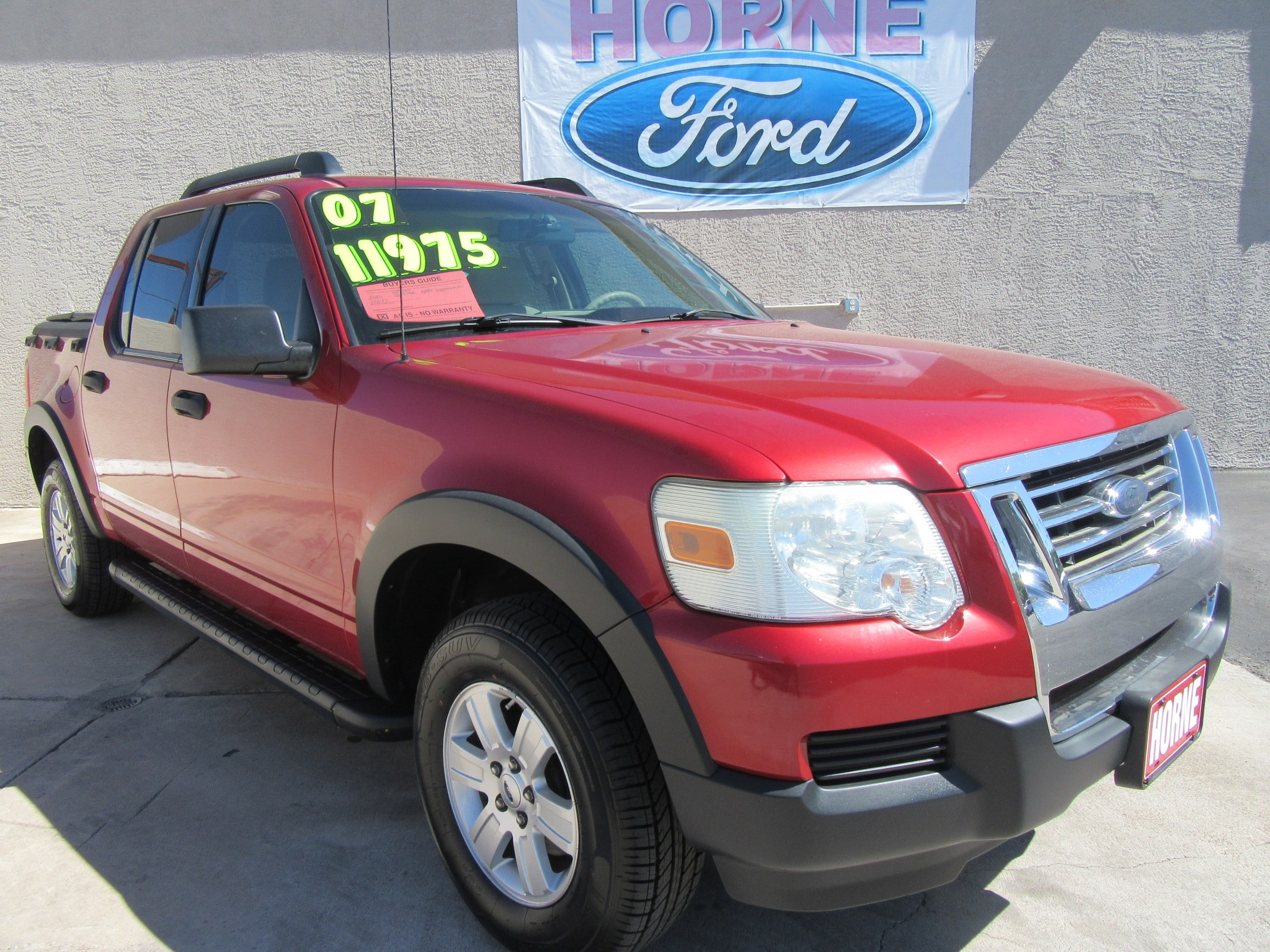 Used 2007 Ford Explorer Sport Trac For Sale Az Suspension