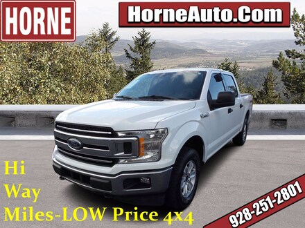 Featured Used 2018 Ford F-150 XLT XLT 4WD SuperCrew 5.5 Box for Sale in Show Low, AZ