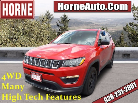 Featured Used 2019 Jeep Compass Sport Sport 4x4 for Sale in Show Low, AZ