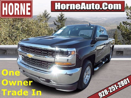 Featured Used 2018 Chevrolet Silverado 1500 LT 2WD Double Cab 143.5 LT w/1LT for Sale in Show Low, AZ