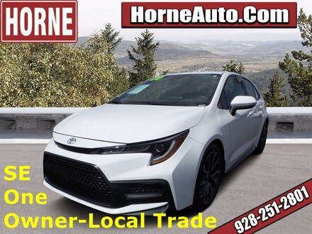 Featured Used 2020 Toyota Corolla SE SE CVT for Sale in Show Low, AZ