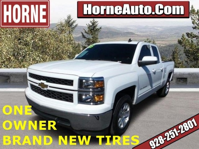 Used 2015 Chevrolet Silverado 1500 LT 2WD Double Cab 143.5 LT w/1LT for sale in Show Low