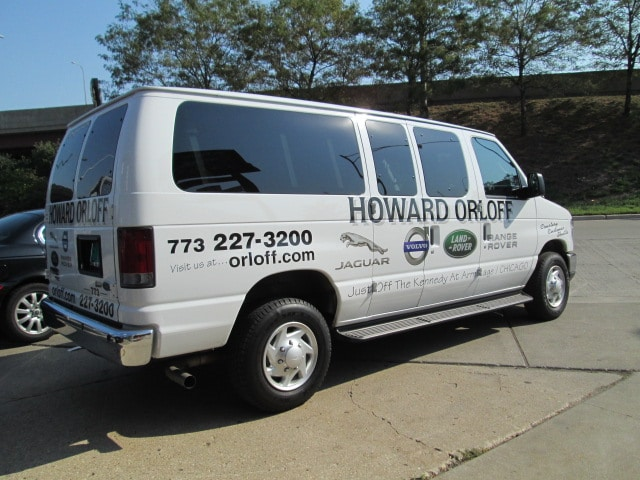Shuttle Service Land Rover Chicago