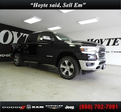 New 2020 Ram 1500 LARAMIE CREW CAB 4X4 5'7 BOX Crew Cab for sale in Sherman, TX at Hoyte Dodge RAM Chrysler Jeep