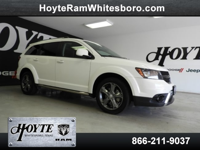 Used 2016 Dodge Journey Crossroad For Sale in Sherman, TX | VIN#  3C4PDCGBXGT220643