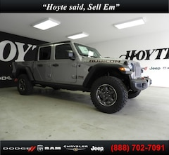 New 2020 Jeep Gladiator RUBICON 4X4 Crew Cab for sale in Sherman, TX at Hoyte Dodge RAM Chrysler Jeep