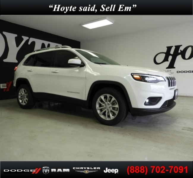 New 2019 Jeep Cherokee LATITUDE FWD Sport Utility For Sale in Sherman, TX