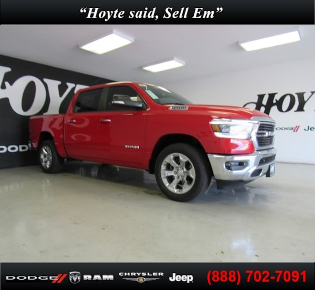 New 2019 Ram 1500 BIG HORN / LONE STAR CREW CAB 4X2 5'7 BOX Crew Cab For Sale in Sherman, TX