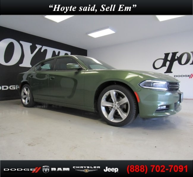 New 2018 Dodge Charger SXT PLUS RWD - LEATHER Sedan For Sale in Sherman, TX