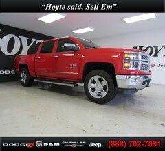 Used 2014 Chevrolet Silverado 1500 4X4 Crew CAB LTZ truck 3GCUKSEC1EG254409 for sale in Sherman, TX at Hoyte Dodge RAM Chrysler Jeep