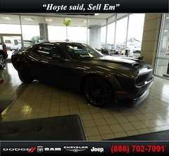 New 2019 Dodge Challenger SRT HELLCAT REDEYE WIDEBODY Coupe for sale in Sherman, TX at Hoyte Dodge RAM Chrysler Jeep