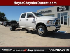 New 2018 Ram 3500 TRADESMAN CREW CAB CHASSIS 4X4 172.4 WB Crew Cab for sale in Sherman, TX at Hoyte Dodge RAM Chrysler Jeep