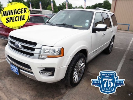 Used 2017 Ford Expedition Platinum for Sale in Lafayette, LA