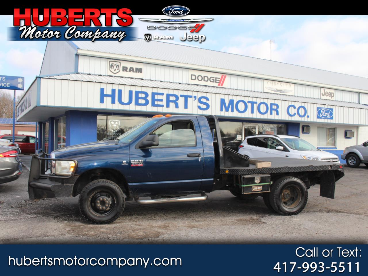 2008 Dodge Ram 3500 HD Chassis ST/SLT Truck Regular Cab