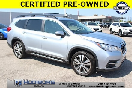 Featured Used 2019 Subaru Ascent Limited 7-Passenger SUV 4S4WMAMD9K3436117 PS4876 for Sale in OKC