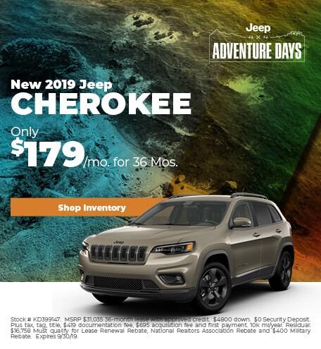 2019 - Cherokee - September